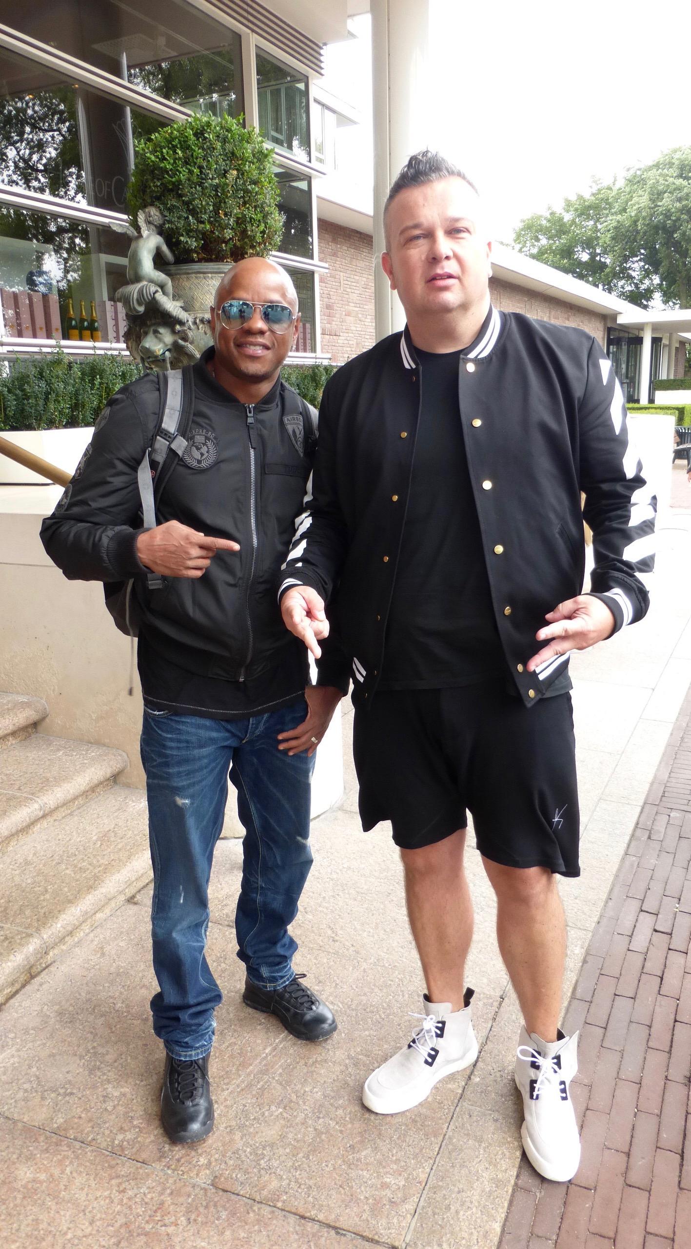 Donell Jones & Mirko KrazyToons Amsterdam (1)